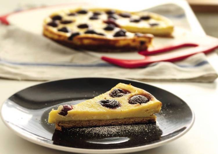 Cherry Ricotta Pie