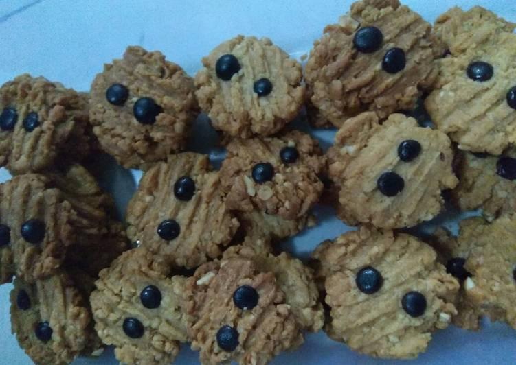 Bagaimana Menyiapkan Cookies oat kacang Anti Gagal