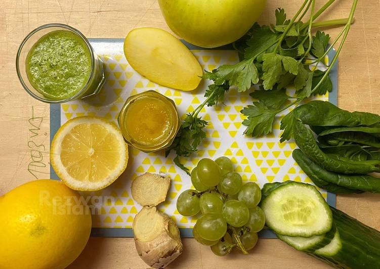 """Green detox"" juice"