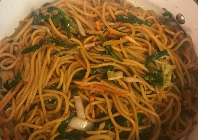 Yummy Vegetable lo mein