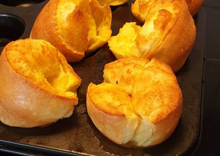 Steps to Make Ultimate Yorkshire puddings