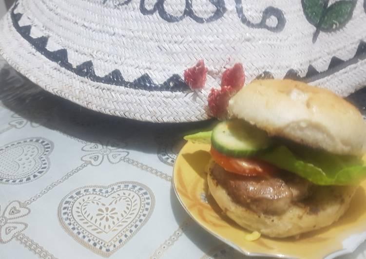 Easiest Way to Prepare Ultimate Fillet burger