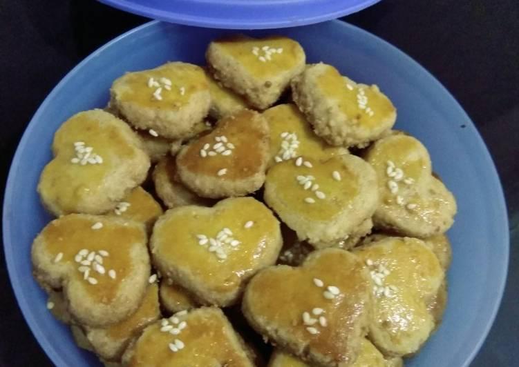 Kue Kacang (panggang teflon)