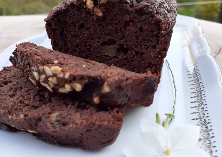 Gâteau à la courgette et au cacao