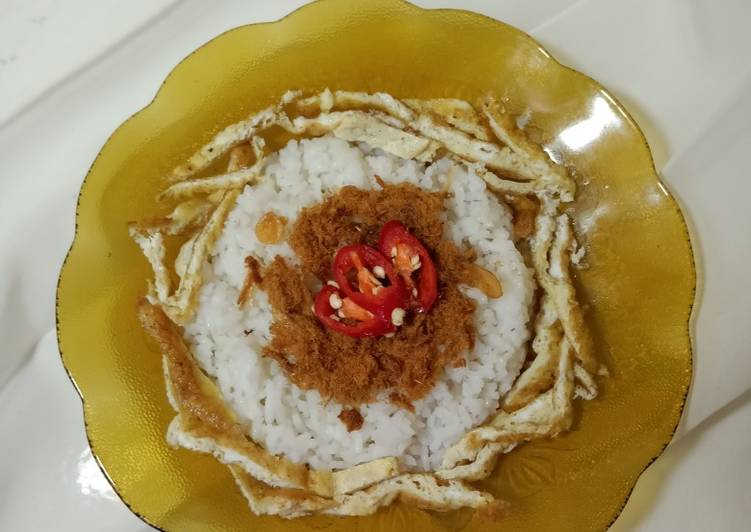 Nasi Uduk Mudah (Pake Rice Cooker)