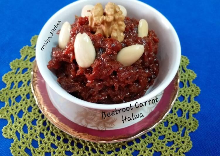 Beetroot Carrot Halwa