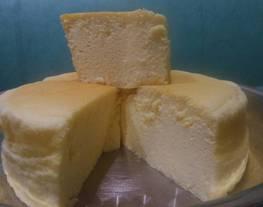 Souffle Cheesecake 4telur (Japanese Catton Cheesecake)