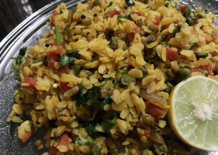 The Meals You Choose To Feed On Will Effect Your Health Moong daal poha with veggies