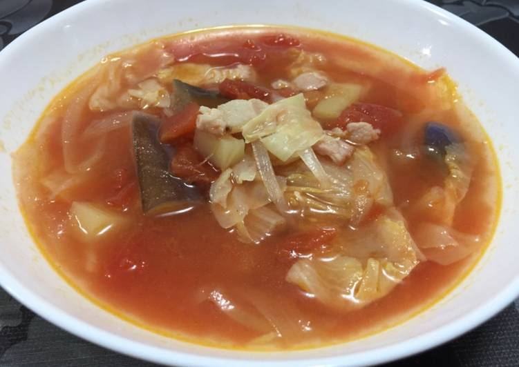 Step-by-Step Guide to Prepare Super Quick Homemade Minestrone Soup