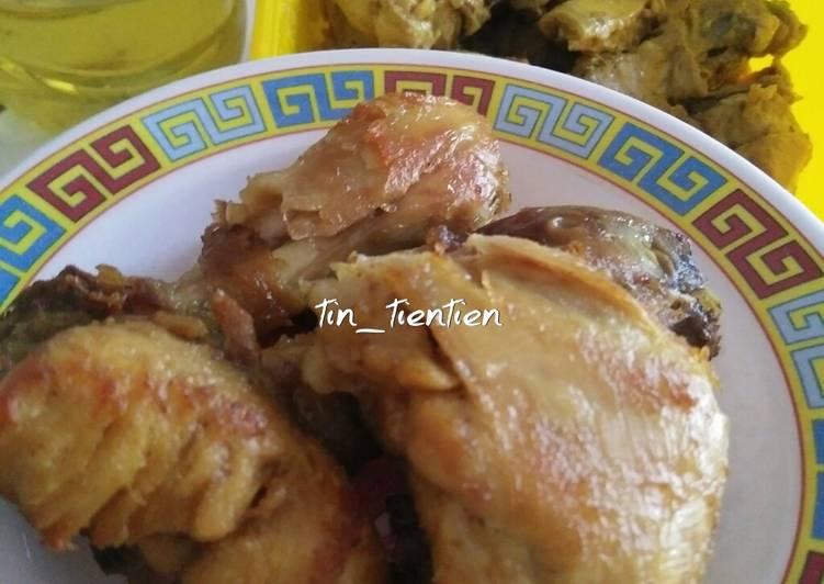 190. Ayam goreng ungkep