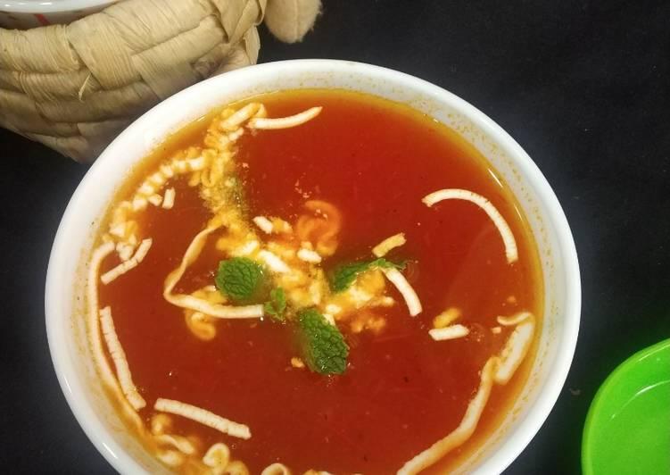 Steps to Prepare Speedy Tomato soup