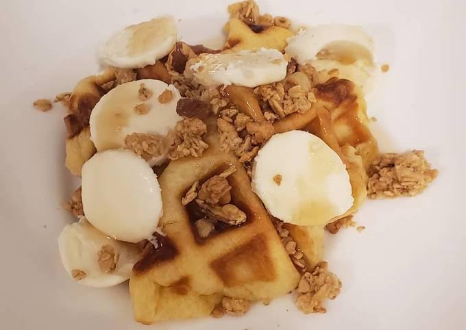 Easy Croffles (crossaints in waffle iron)