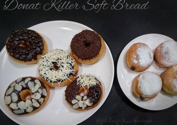 Donat Killer Soft Bread