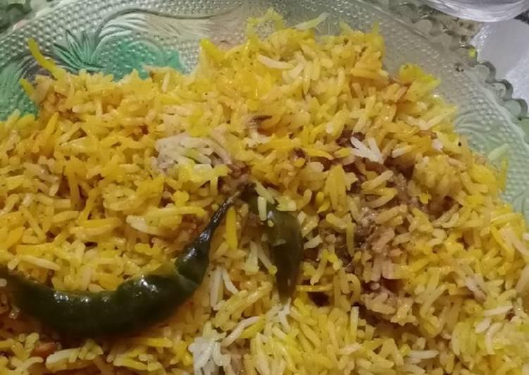 Recipe: Yummy Layered Chicken Biryani#Ramzan recipe
