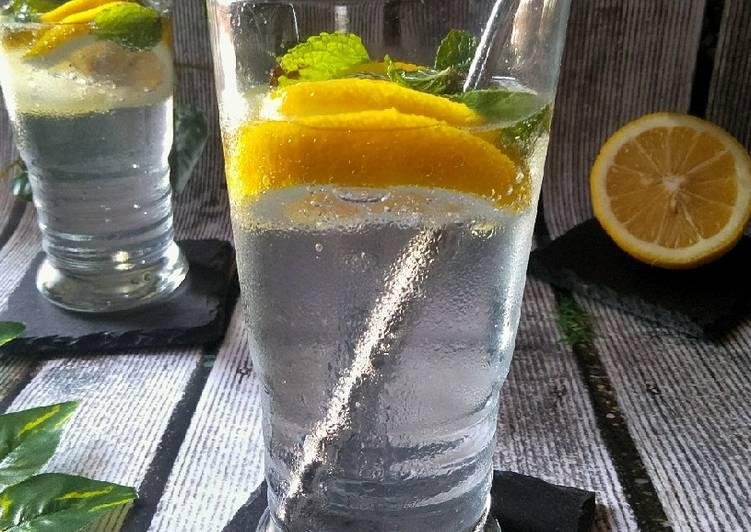 Lemon Mint Soda
