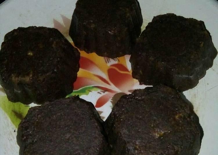 Bagaimana Membuat Oat banana chocolate cake Anti Gagal