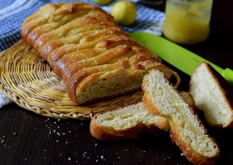 Braided Lemon bread: