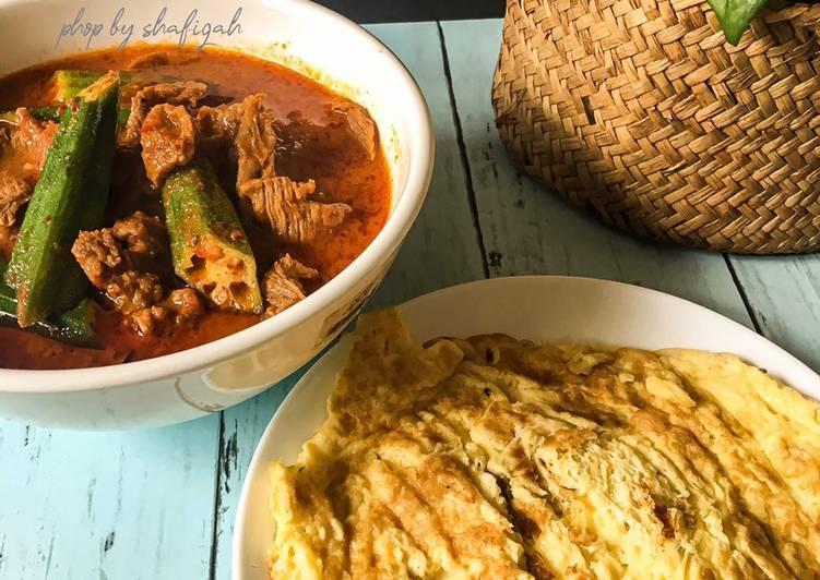 Resepi:  Asam pedas daging melaka  Lazat