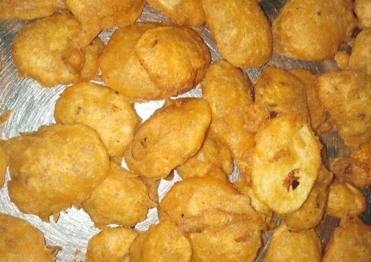 Recipe of Super Quick Homemade Aloo k Pakore