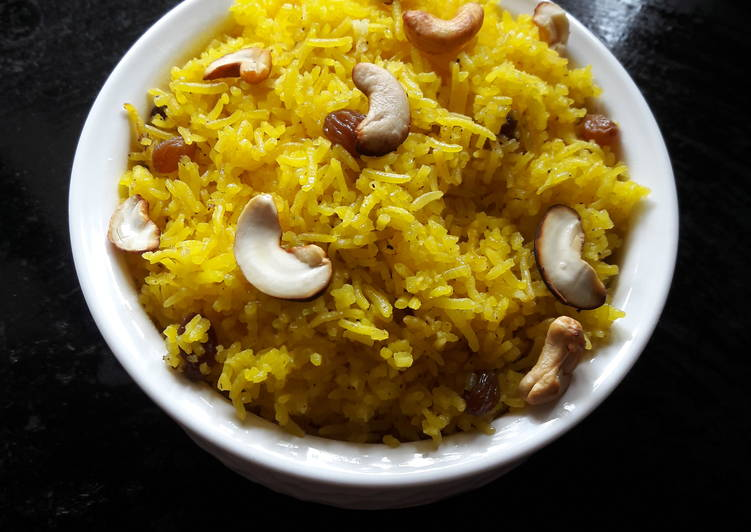 Information on How to Elevate Your Mood with Food Bengali Mitha Basanti Pulao