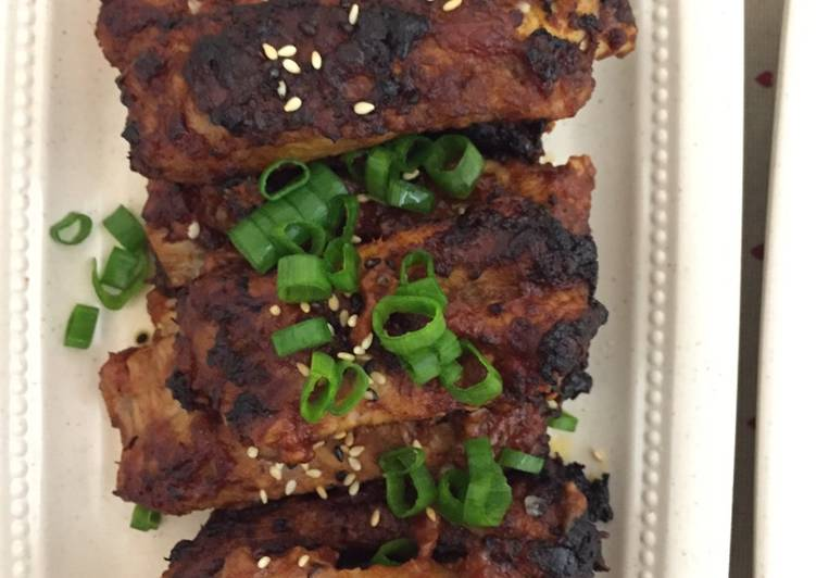 Takeout style chinese spare ribs