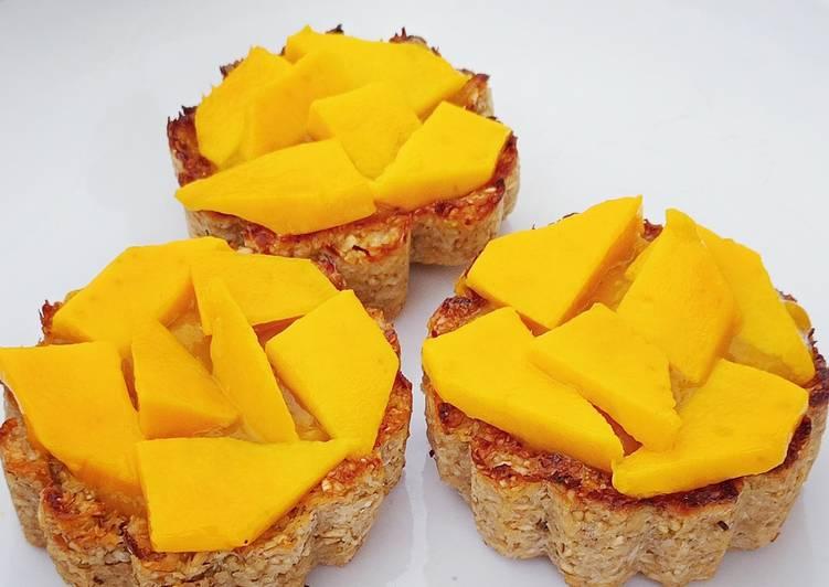 Tartelettes à la mangue (healthy)