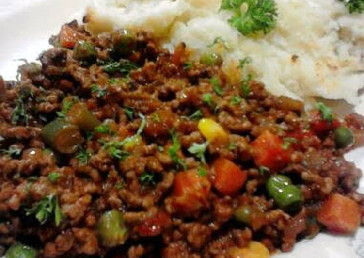 Heathers Lazy Italian Style Ground Beef Mince