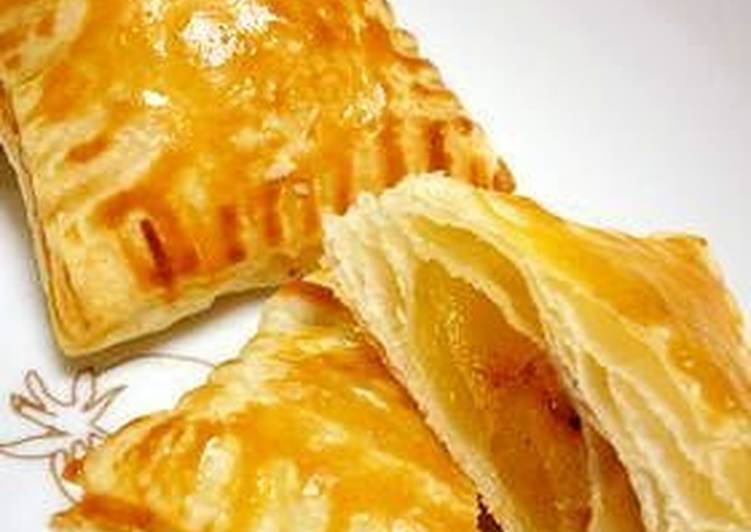 Recipe of Favorite Apple Pie with Steamed Apples Made in a Silicone Steamer