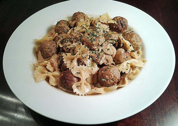 Meatball Stroganoff, Help Your Heart with Food