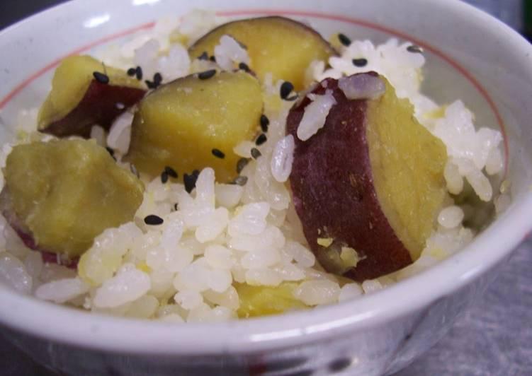 How to Prepare Homemade Sweet Potato Rice: The Subtle Sweetness Makes Me Happy!