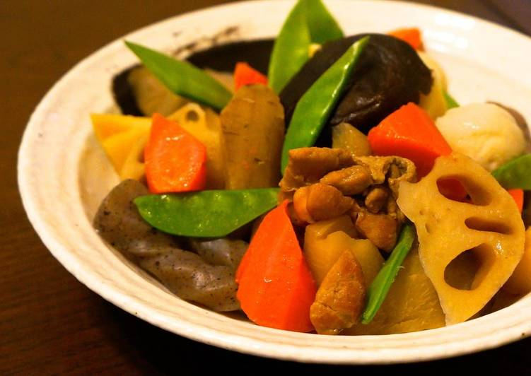 Easy Vegetable and Chicken Stew