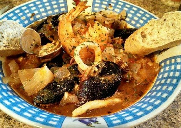 Steps to Make Speedy Easy Cioppino