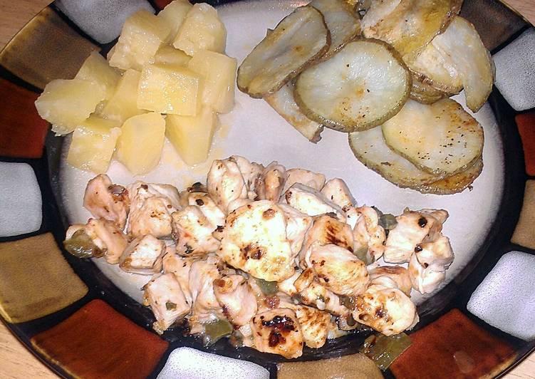 Italian Dressed Chicken and Potatoes
