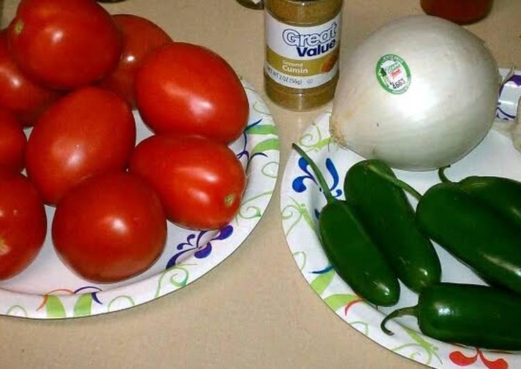 Larry's homemade salsa