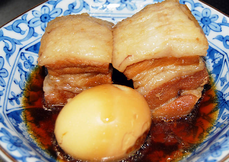 Easy Homemade Tender Stewed Pork Belly Chunks Recipe