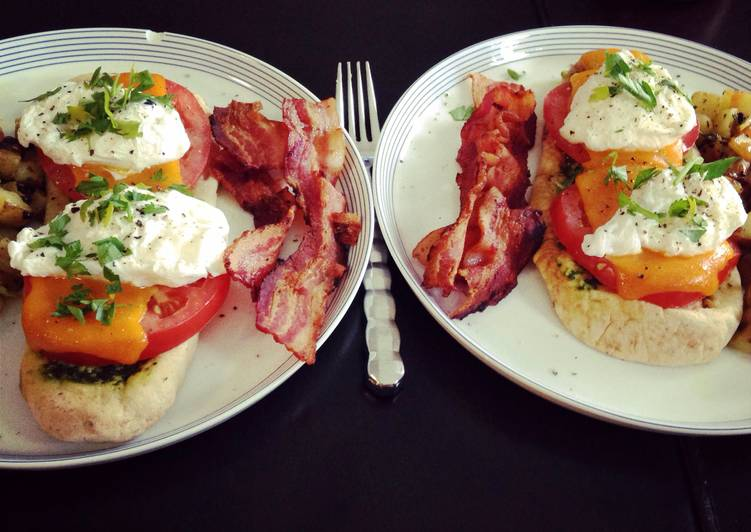 Recipe of Perfect Mediterranean Poached Egg Breakfast