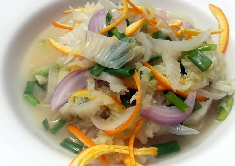 How to Prepare Perfect Napa Cabbage With Orange Peel