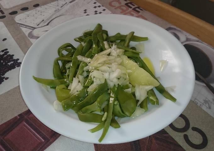 Hot Green Bean Salad