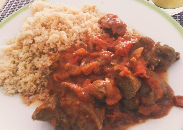 Lamb Curry With Spicy Couscous