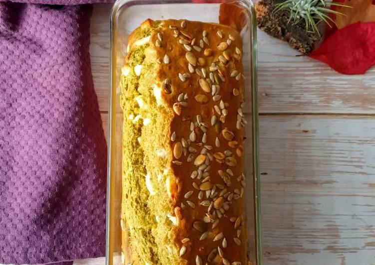 Le moyen le plus simple de Cuire Appétissante Cake pesto feta