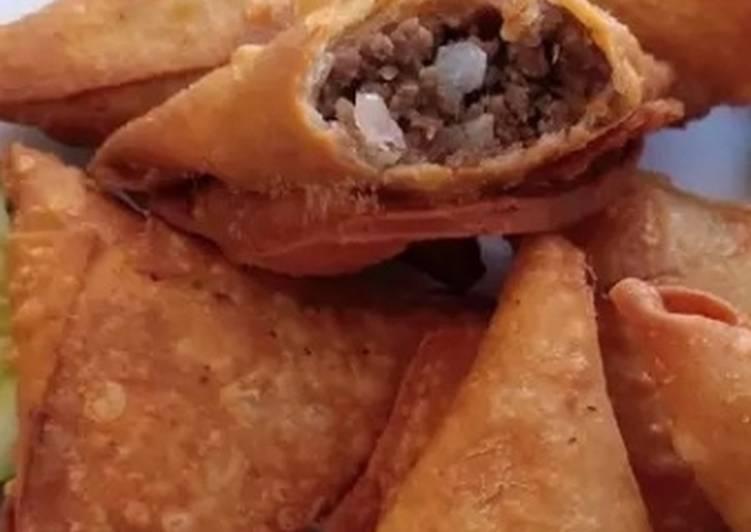 My Favorite Beef samosas