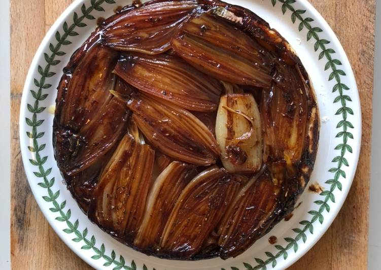 Step-by-Step Guide to Prepare Award-winning Shallot-almost-Tatin