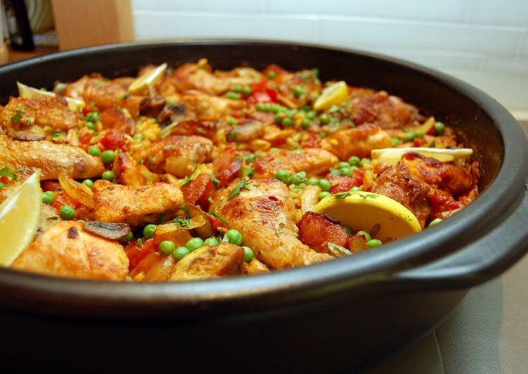 Easy Chicken Paella