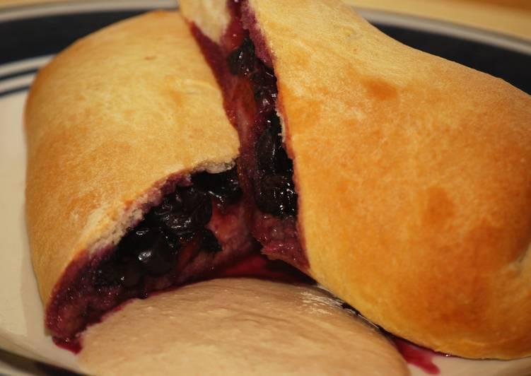 Easiest Way to Make Super Quick Homemade Blueberry Stromboli w/Cinnamon Balsamic Cream