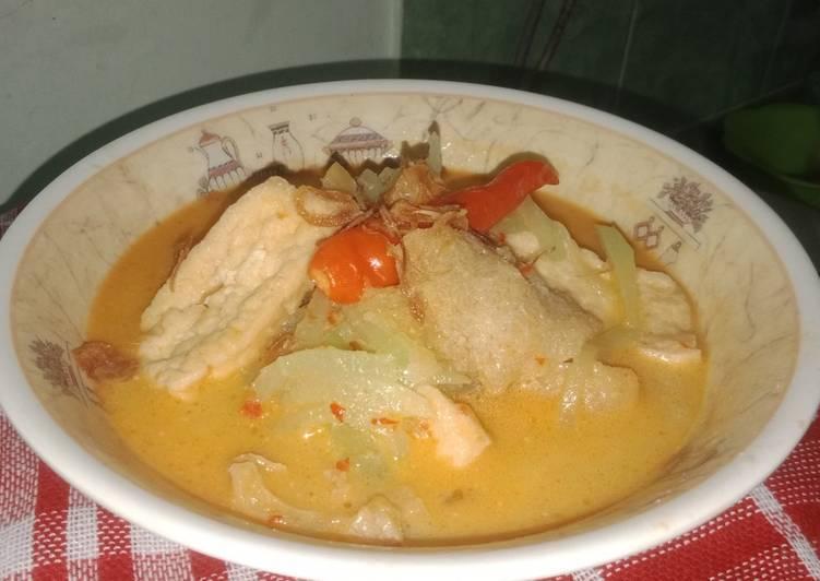 Sambel goreng jipang with tahu dan krecek