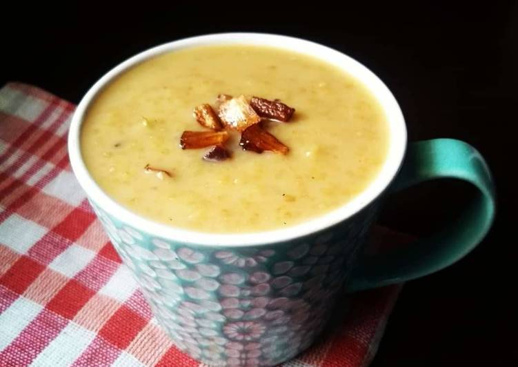 5 Minute Recipe of Speedy Broken Wheat Payasam