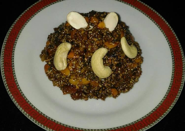 Recipe of Award-winning Bajri (Millet) lapsi