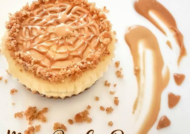 Mini Bisscoffrie Cheesecake