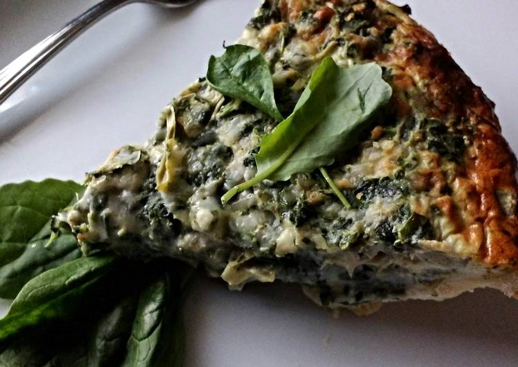 Easiest Way to Make Favorite Spinach Artichoke  Quiche
