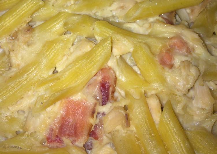 Easiest Way to Make Tasty Chicken Bacon Ranch Pasta